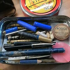 More details for vintage leichner  stage make-up, large quantity in period boxes.