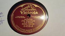 ENRICO CARUSO LA PARTIDA & EL MILAGOR DE LA VIRGEN FLORES PURISIMAS VIC 6458