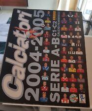 Album calciatori 2004 2005 Panini completo del 6 figurine omaggio intrno perfett