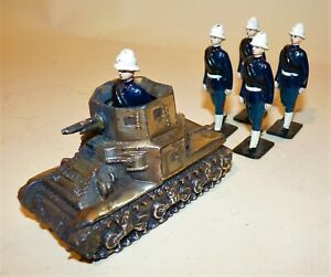 Britains Field Artillery with Tank
