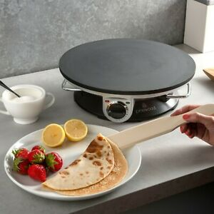 """Crepe and Pancake Maker - Electric 13"""" Non Stick Hot plate 1200w inc Accessories"""