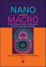Nano Meets Macro : Social Perspectives on Nanoscale Sciences ...BRAND NEW