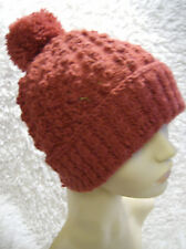 'Loganberry Swirl' Ladies/Mens Hat - Easy Knitting Pattern