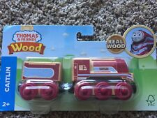 Fisher-Price Thomas & Friends Wooden Engine - Caitlin FHM47 NEW