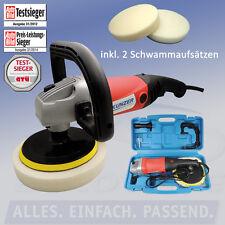 Kunzer Elektro Poliermaschine mit Zubehör Testsieger 2012