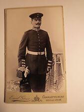 Charlottenburg - 1903 involucra soldado en uniforme-regimiento Garde GR 3?/CDV