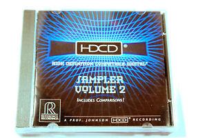 AUDIOPHILE CD REFERENZ - HDCD Sampler Volume 2 - Klassik - Jazz - j1