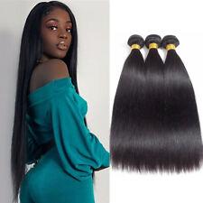 3Bundles Fashion Straight Human Hair Extensions Weave Unprocessed Human Hair