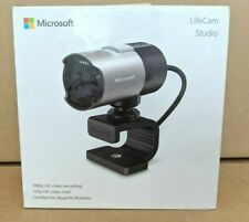 MICROSOFT LifeCam Studio 1080p Full HD USB Webcam Video Camera Microphone