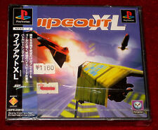 *New & Factory Sealed* PS1 Game WIPEOUT XL NTSC-J Japan Import PlayStation