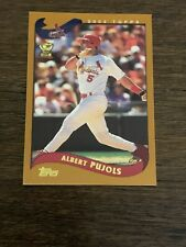 2002 TOPPS LIMITED ALBERT PUJOLS #160 ALL STAR ROOKIE CARDINALS EX-MT OR BETTER