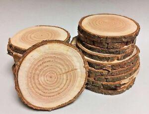 DOUGLASIE Restposten Holzscheiben Astscheiben Baumscheiben Deko 20 St 10-16 cm