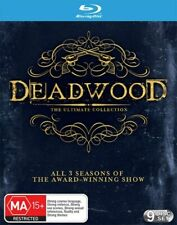 Deadwood: The Ultimate Collection (Blu-ray Disc, 2015, 9-Disc Set)