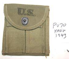 """Original USGI WWII M1 Carbine Stock Pouch, """"KADIN"""", 1943,  NEW"""