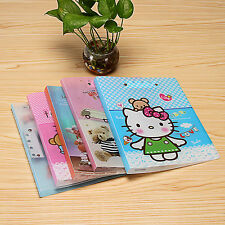 1 PCS Cute Paper Expanding File Folder Lever File Office Supply Metal Clip A4