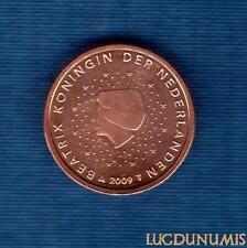 Pays Bas 2009 - 2 centimes d'Euro - Pièce neuve de rouleau - Netherlands