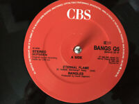 "Bangles ‎– Eternal Flame Vinyl 12"" Single UK CBS BANGS Q5 1988"