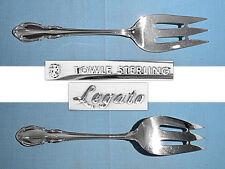 "Sterling silver Towle  LEGATO  MEAT Fork 9 1//8/""  85g no mono"