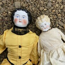 1800's Large 22� German Victorian China Dolls Lot