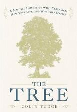 The Tree: A Natural History of What Trees Are, How They Live, and Why -ExLibrary