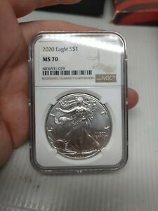 2020 American Silver Eagle NGC MS70.