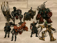 Vintage Lot of 9 Spawn Figures! 1990's* Mixed Figures