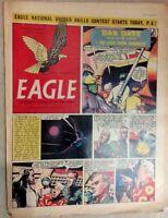 1955 Classic Eagle Comic Vol 6 No 41: Dan Dare The Man From Nowhere  - 14th Oct