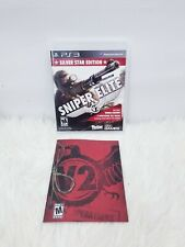 SNIPER ELITE V2 (Silver Star Edition) - (Sony Playstation 3) PS3 with manual