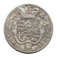 KM# 678 - Sixpence - George IV - Great Britain 1821 'Damaged'