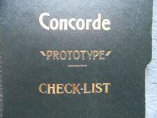 Concorde 002 Aircrew Checklist Manuals 1972 photocopy