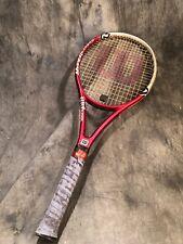 "Wilson Hyper Hammer Carbon 5.6 Rollers Racquet #2 Grip 4 1/4""Head 95 Sq. In."