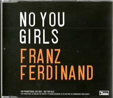 FRANZ FERDINAND - No You Girls -  (3 Track Promo CD) - Vince Clark Remix - NEW