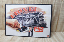 Vintage 1990's Lionel Trains Retro Art Signs 16x11