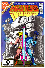 MASTERS OF THE UNIVERSE #2 in FN+  a 1983 DC comic - HE-MAN