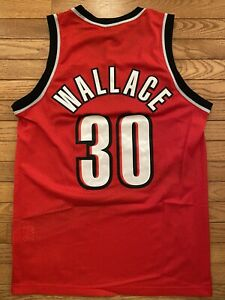 Nike Swingman Jersey Portland Trailblazers Rasheed Wallace Medium New With Tags