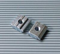 Nutenstein Schwer T-Nut M3 M4 M5 M6 M8 M10 Nut 6 8 10 für 20 30 40 45 Aluprofil