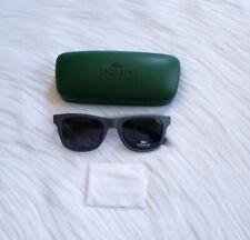 Lacoste Mens Classic Soft Square Matte Finish Sunglasses Gray color style L790S