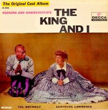 THE KING AND I- Original Broadway Cast (musical) OST Album (MONO) Released 1961