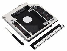 With bezel 2nd HDD SSD hard drive Caddy For HP EliteBook 8460P 8460W 8470P 8470W