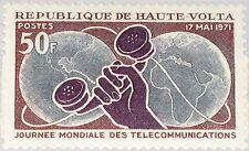 UPPER VOLTA OBERVOLTA 1971 331 241 3rd World Telecommunication Day Telephone MNH