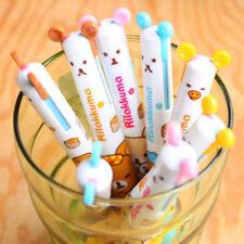 4Pcs×2 colour San-x Rilakkuma 2 in 1 Ball pen Kawaii Stationery
