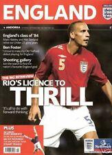 * 2006 ENGLAND v ANDORRA *