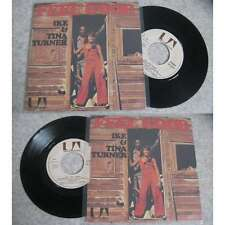 IKE & TINA TURNER - Feel Good / Outrageous Rare French PS Killer Psych Funk