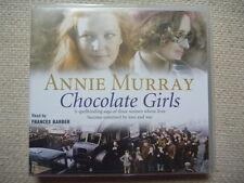 Annie Murray - Chocolate Girls audio 3 Discs NEAR MINT 1st Class Post!