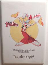 "Who Framed Roger Rabbit MAGNET 2"" x 3"" Refrigerator Locker Movie Poster Image 1"