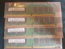 8GB SAMSUNG M378T5663QZ3-CF7 PC2-6400 DDR2-800 RAM  (4x 2GB)