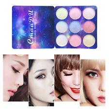 9 Color Cosmetic Matte Eyeshadow Cream Eye Shadow Makeup Palette Shimmer Set K