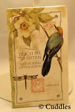 Teach Me To Listen Earth Bird Pocket Address Book Lang Names Cell Phone Email N