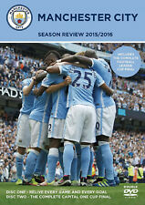 Manchester City Season Review 2015/2016 - 2 DVD SET - BRAND NEW SEALED MAN CITY