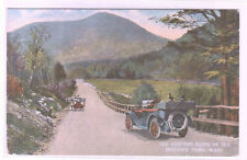 Mohawk Trail Road Scene Car Massachusetts 1910c postcard
